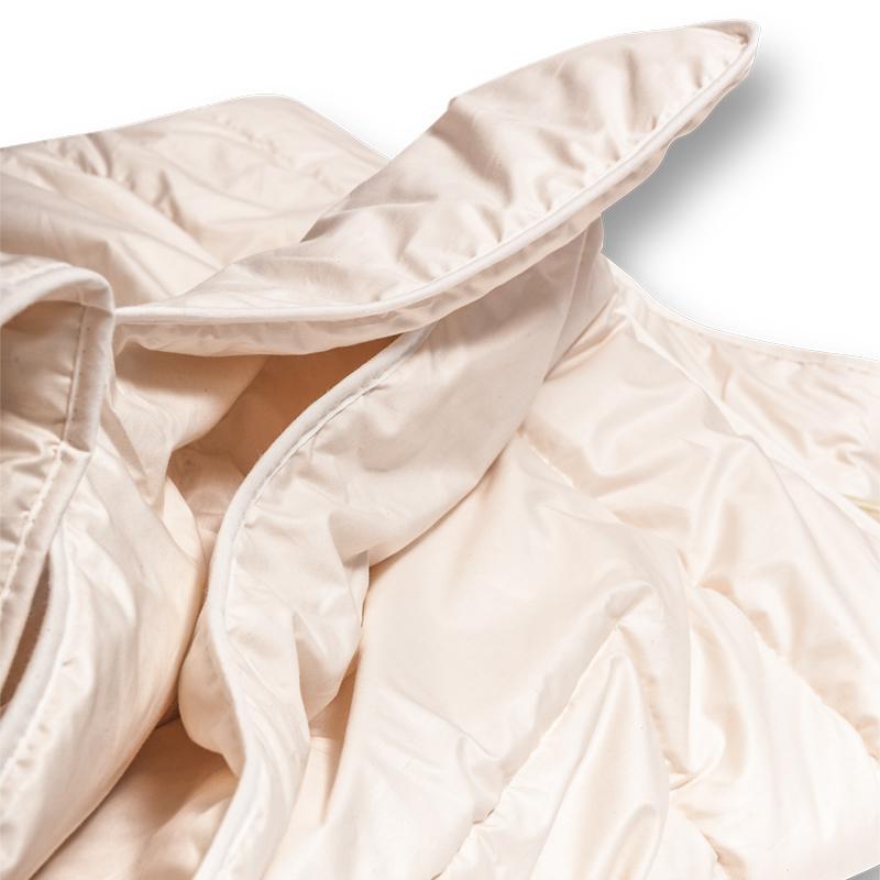 Ganzjahres Bettdecke Aus Schurwolle Naturbelassen