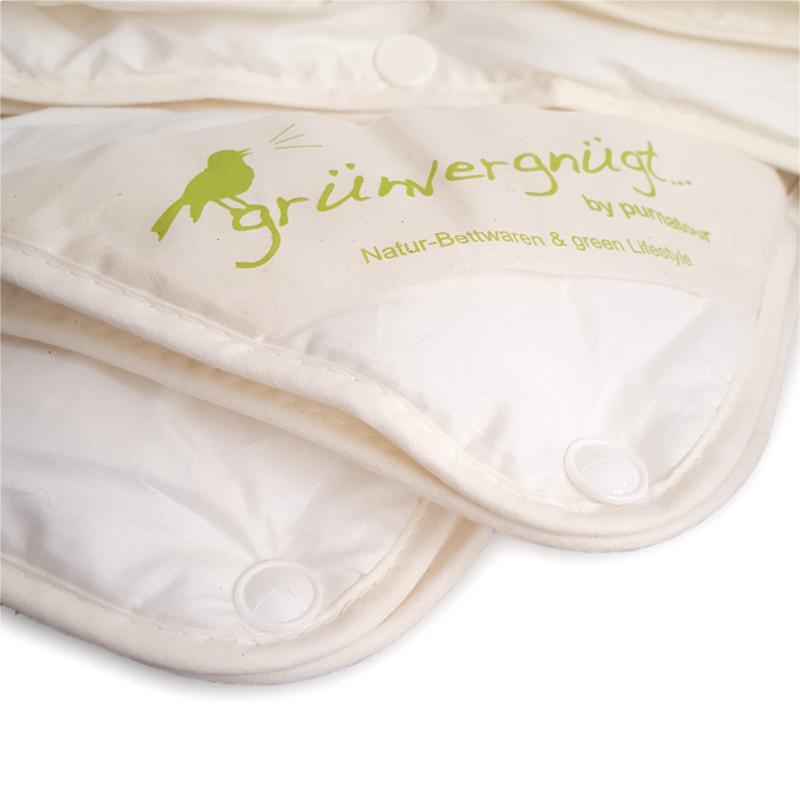 4 jahreszeiten tencel bettdecke mit marken tencel lyocell bezogen mit bio baumwolle. Black Bedroom Furniture Sets. Home Design Ideas